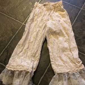 Persnickety lace pants